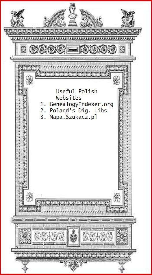 Polish Genealogy Useful Websites 3 Mapa Szukacz Pl
