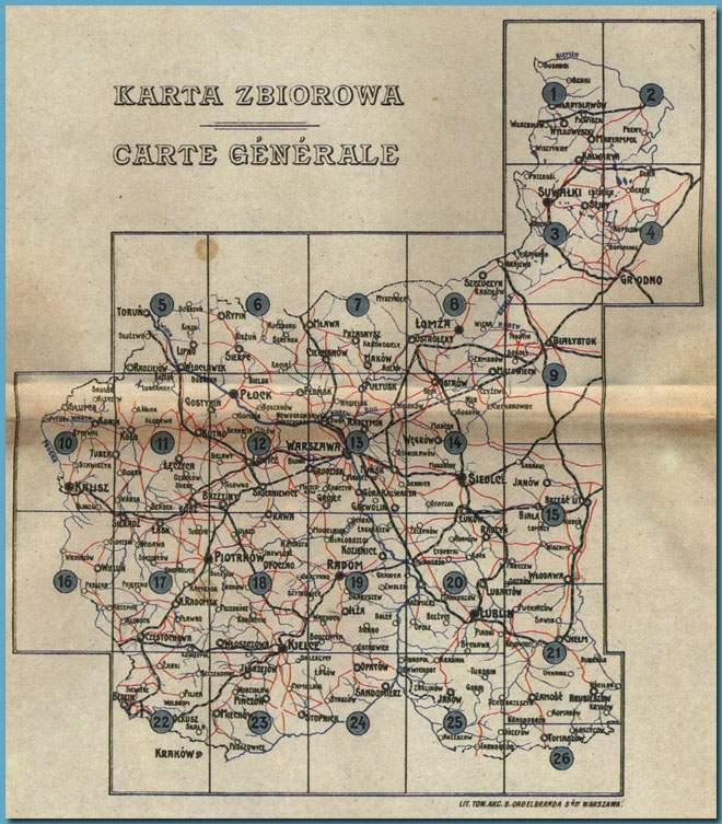 1910 _RoadMap_RussianPoland