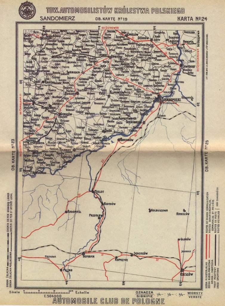 1910 _RoadMap_RussianPoland_Map24