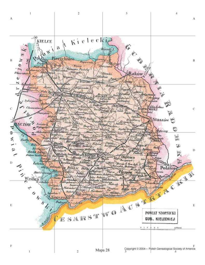 stopnica_powiat_map