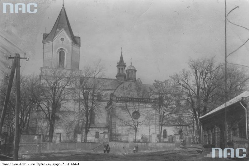 St. Martin -  Pacanow Church about 1918