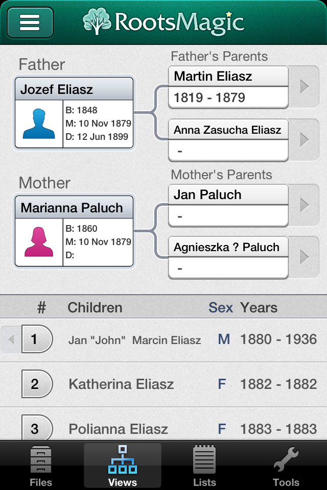 Family Trees | Stanczyk - Internet Muse™