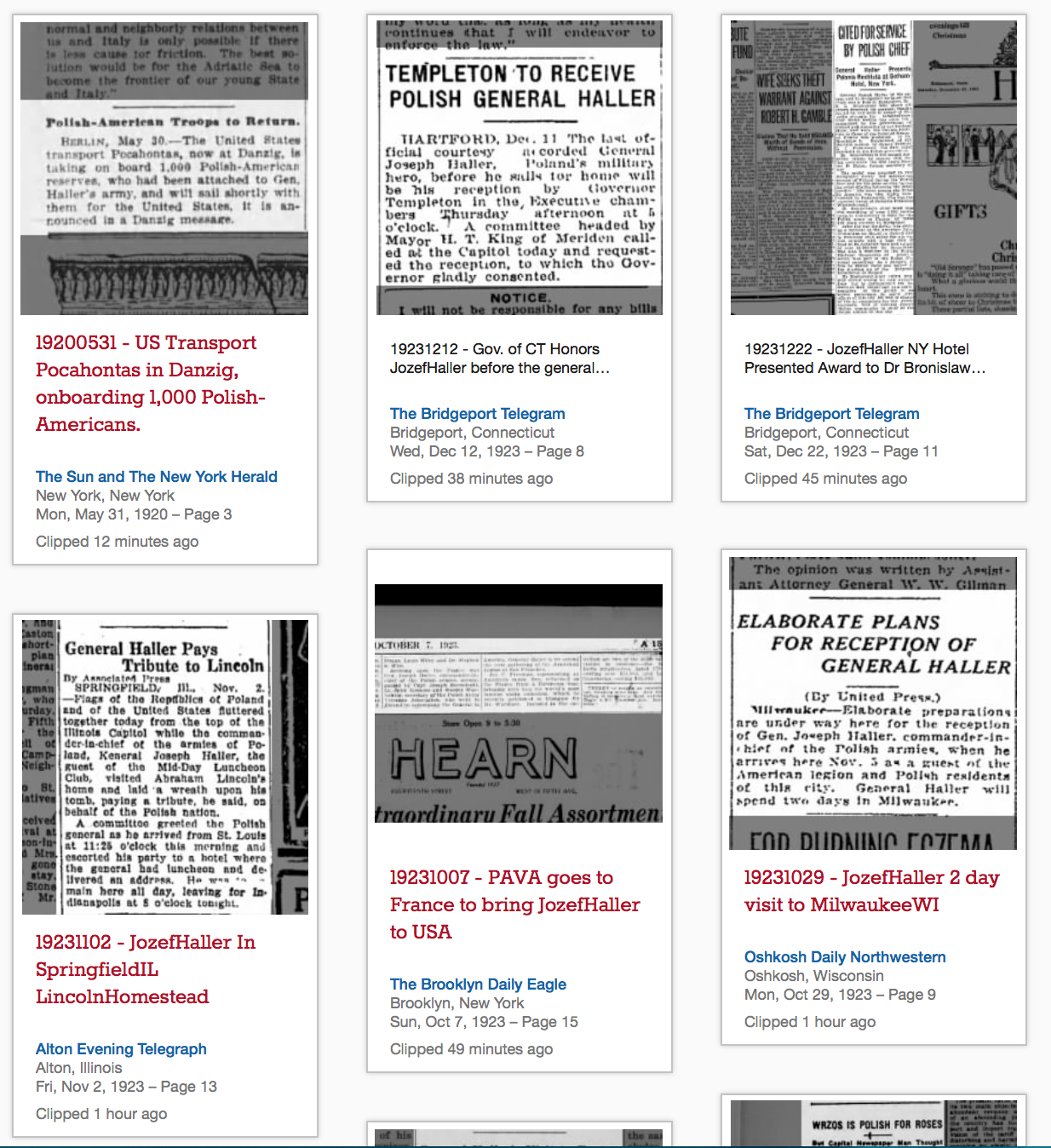 NewspapersClippings