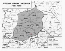 1867-1915 - Gubernia_Kielce,  Stopnica Powiat