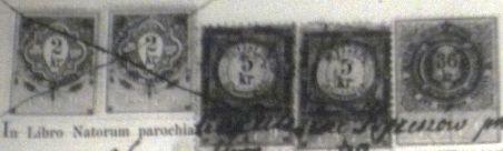 1880Stamps_OnBaptismalCertificate
