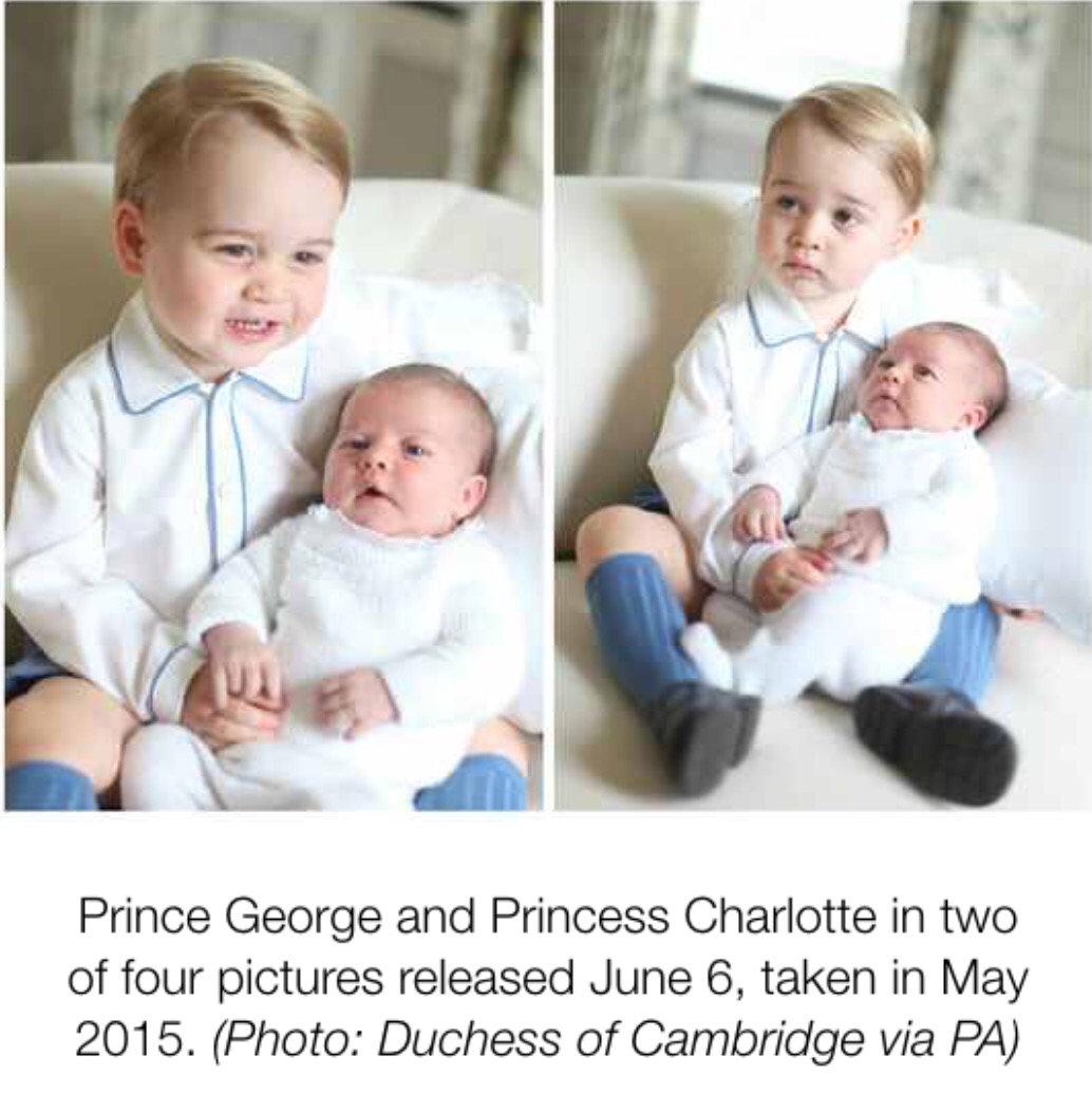 The Duke & Duchess Of Cambridge Baby Pictures