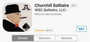 Churchill Solitaire iOS App (in Apple App Store)