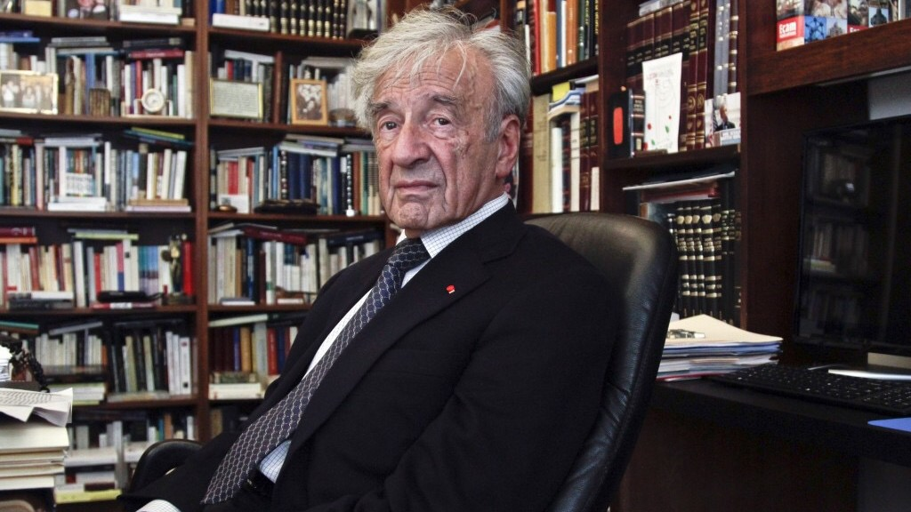Elie Wiesel, a man of letters, intellectual