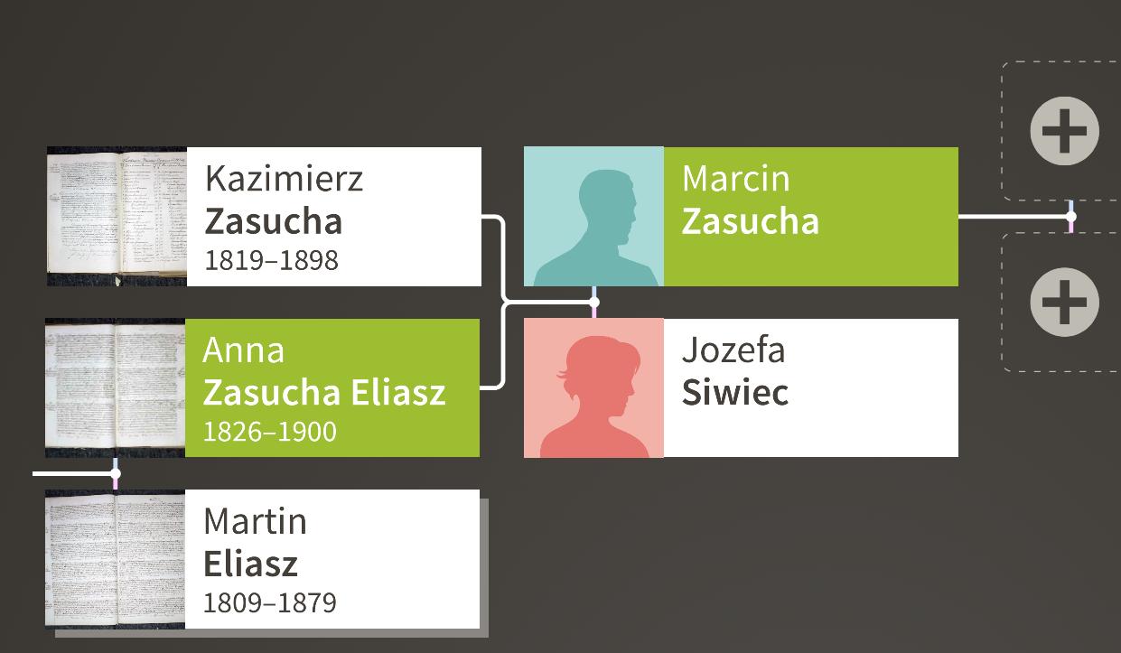 Eliasz Zasucha family tree
