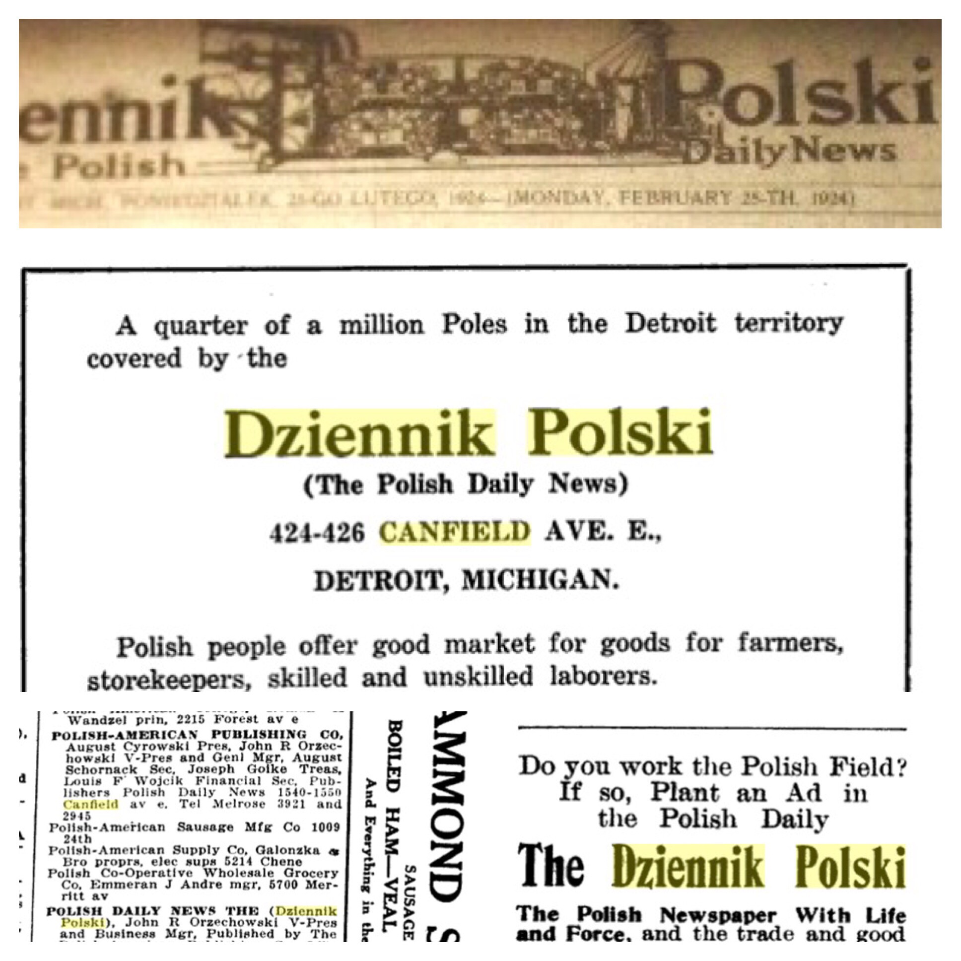 Detroit stanczyk internet muse stanczyk has been very busy a long overdue update to my rootsweb page on dziennik polski has been done more to come 1betcityfo Images