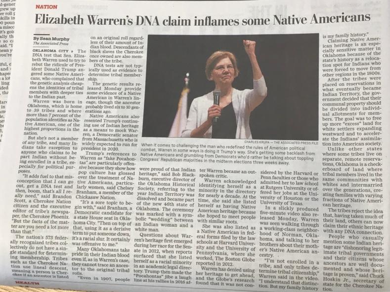 Genetic Genealogy proves claim!