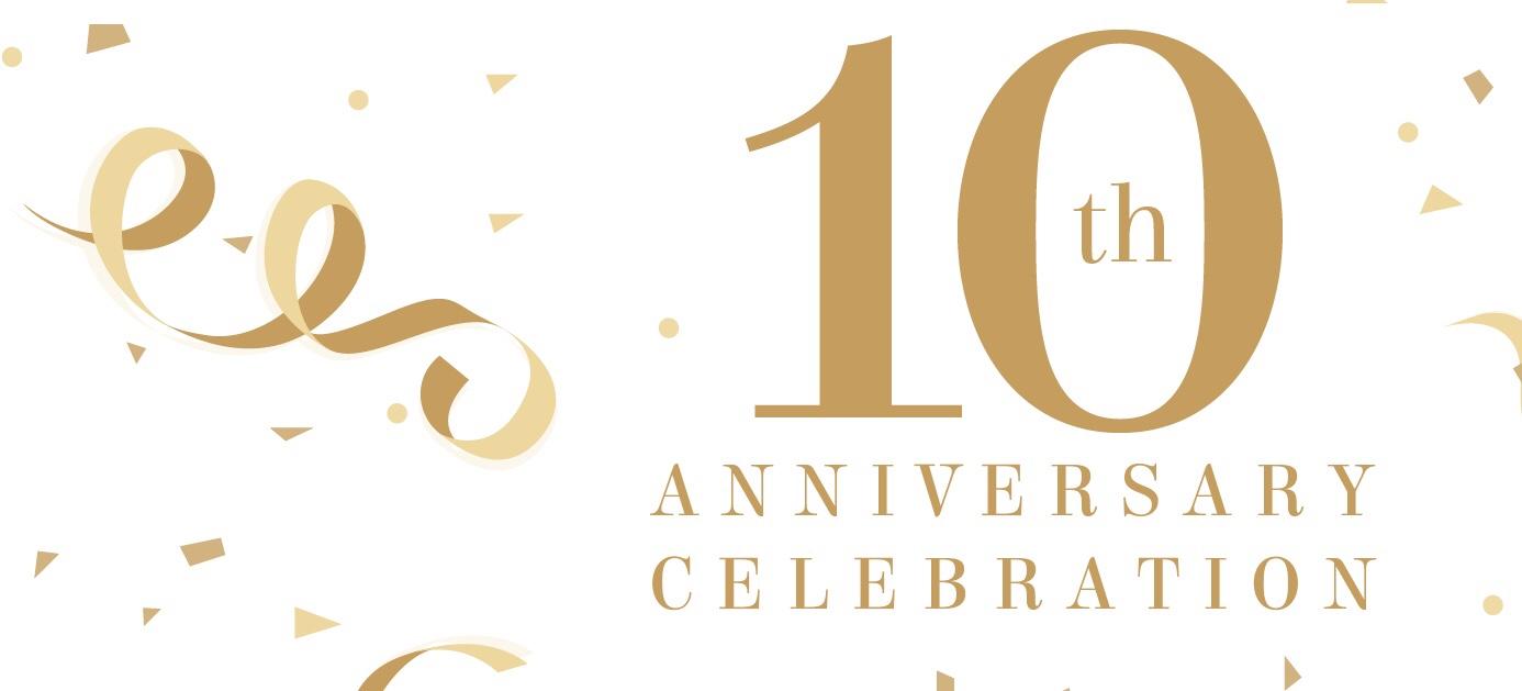 10th Anniversary of Blog