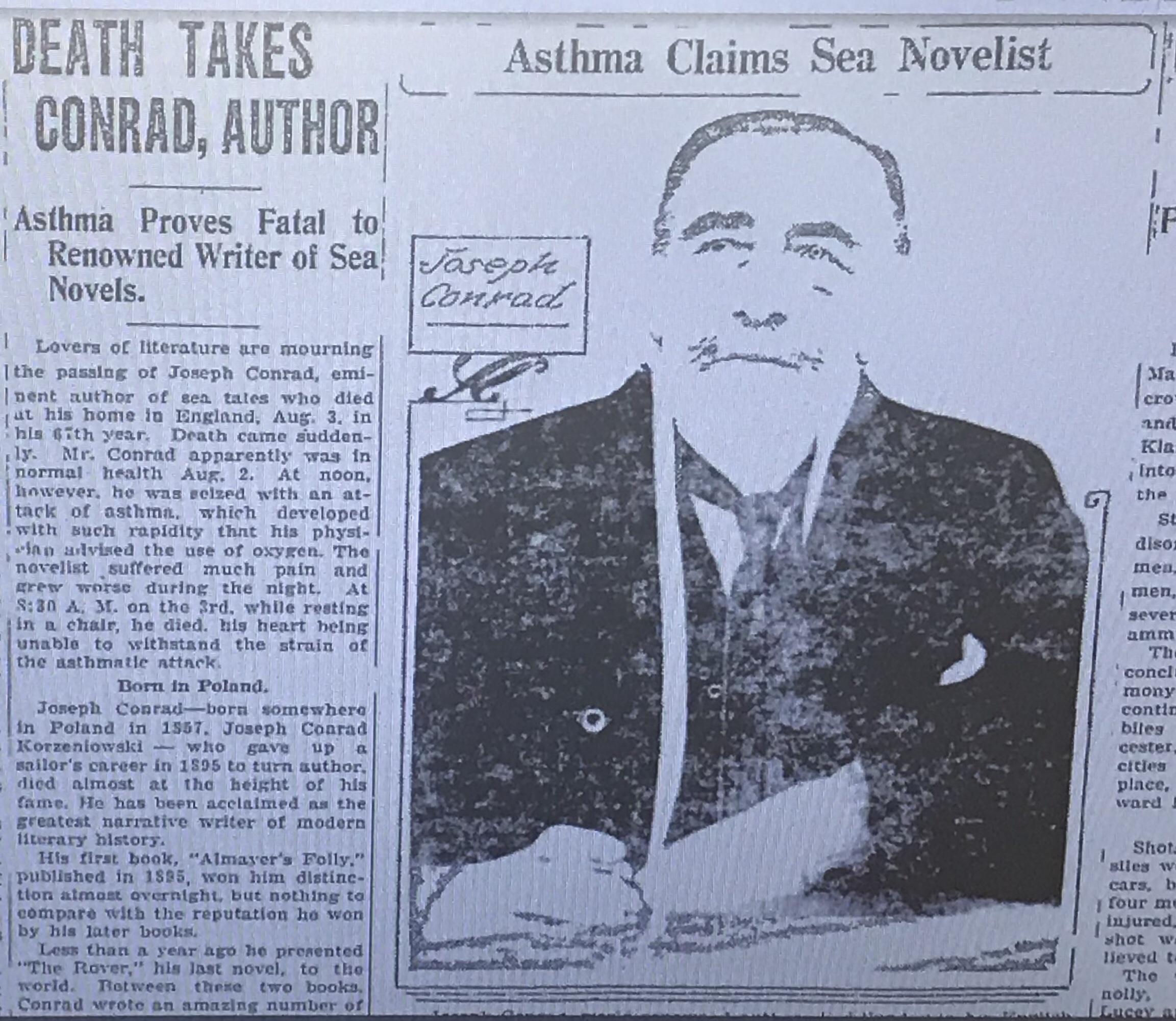 Joseph Conrad — Józef Teodor Konrad Korzeniowski