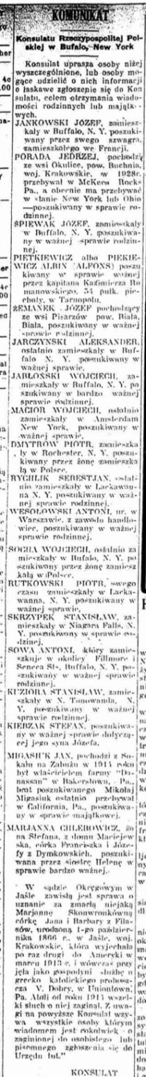 Polish Language Newspaper